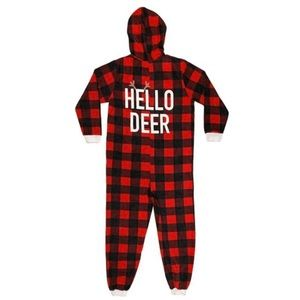 🆕 Buffalo Plaid Mens Pajama Onesie